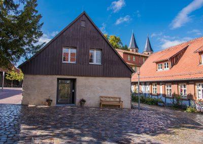 Kloster Drübeck bei der Exkursion zur CLLD-LEADER-Konferenz in Quedlinburg am 14.09.2017 01