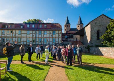Kloster Drübeck bei der Exkursion zur CLLD-LEADER-Konferenz in Quedlinburg am 14.09.2017 03
