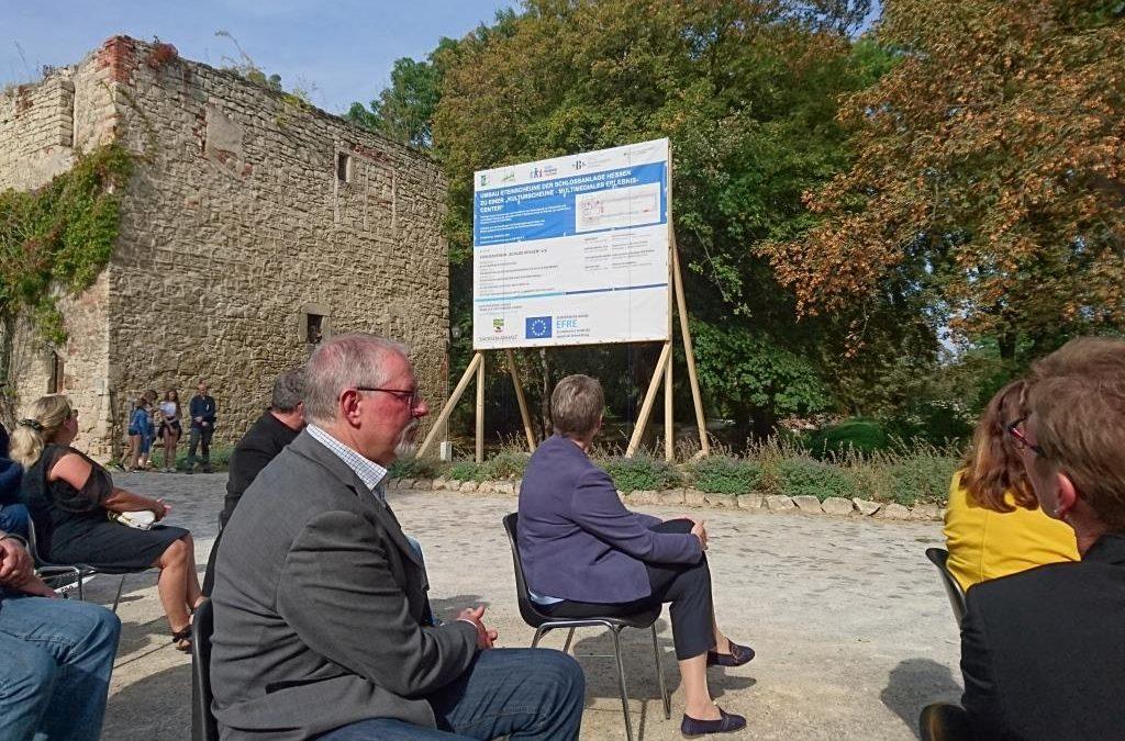 Schloss Hessen beginnt Großprojekt